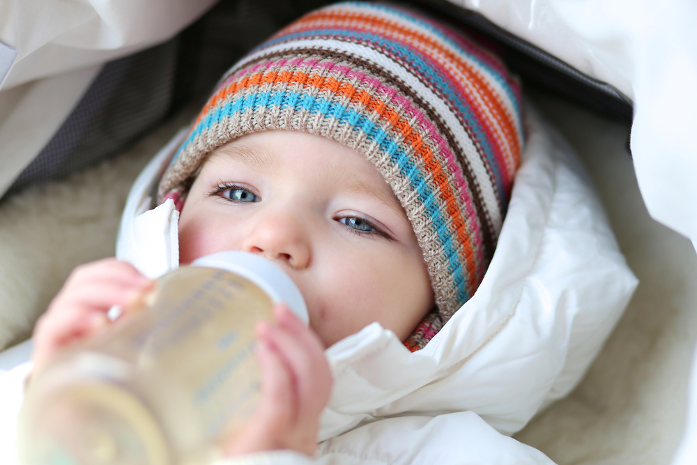 cute-baby-girl-drink-milk-formula