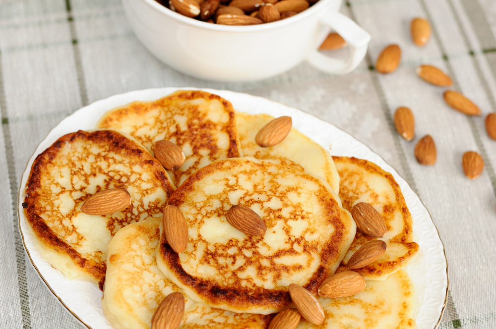 homemade-almond-pancake