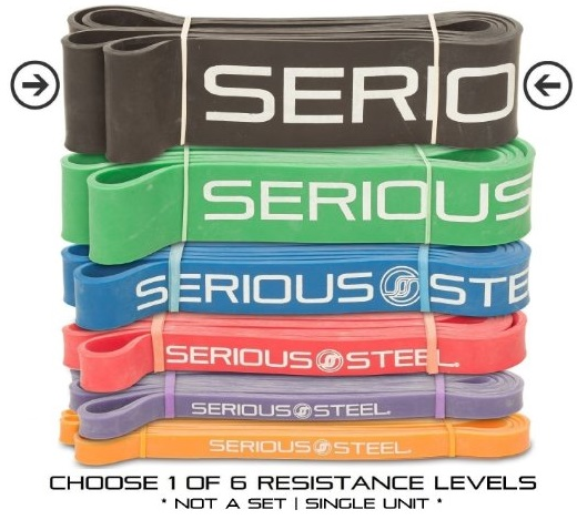 serious-steel-assisted-pull-up-band-resistance-stretch-band