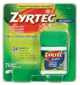 zyrtec-tablets