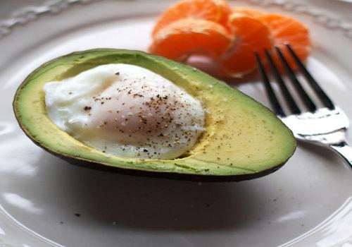 Poached Egg in an Avocado