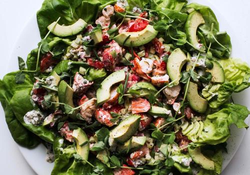 Block Island Lobster Salad with Citrus Vinaigrette