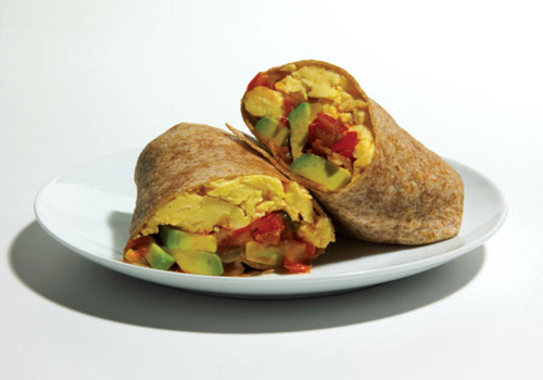 Green Breakfast Burrito