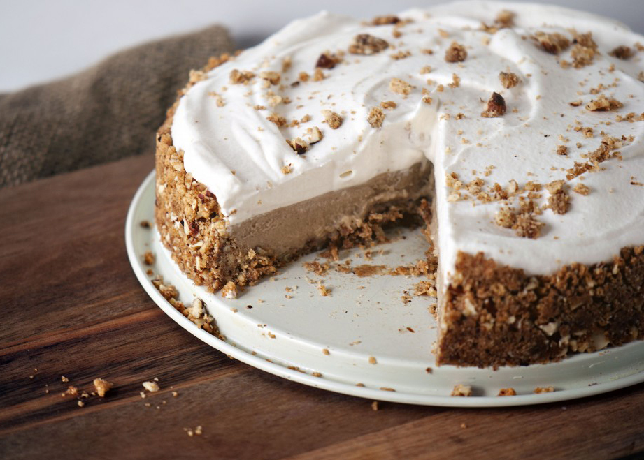 Cinnamon Chai Cream Pie