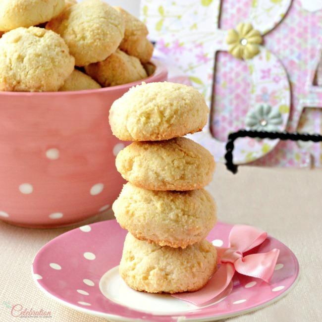 Rosewater Almond Macaroons
