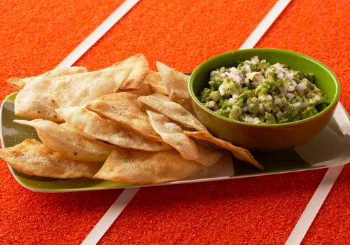 Bobby's Guacamole with Cumin Dusted Tortillas