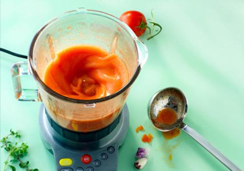 Tomato Avocado Soup