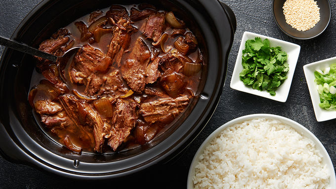 Slow-Cooked Korean Beef