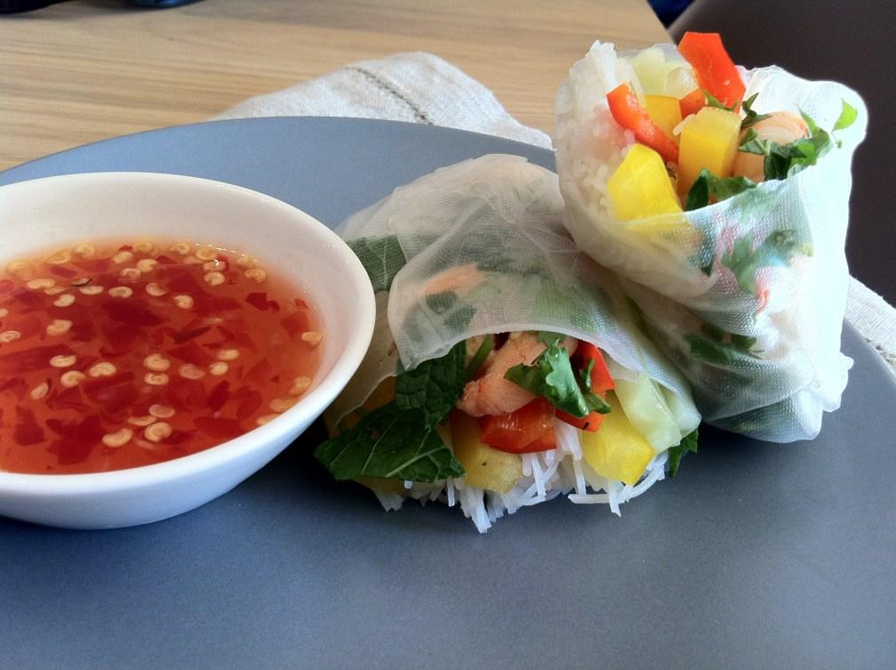 Sesame Prawn Vietnamese Spring Rolls