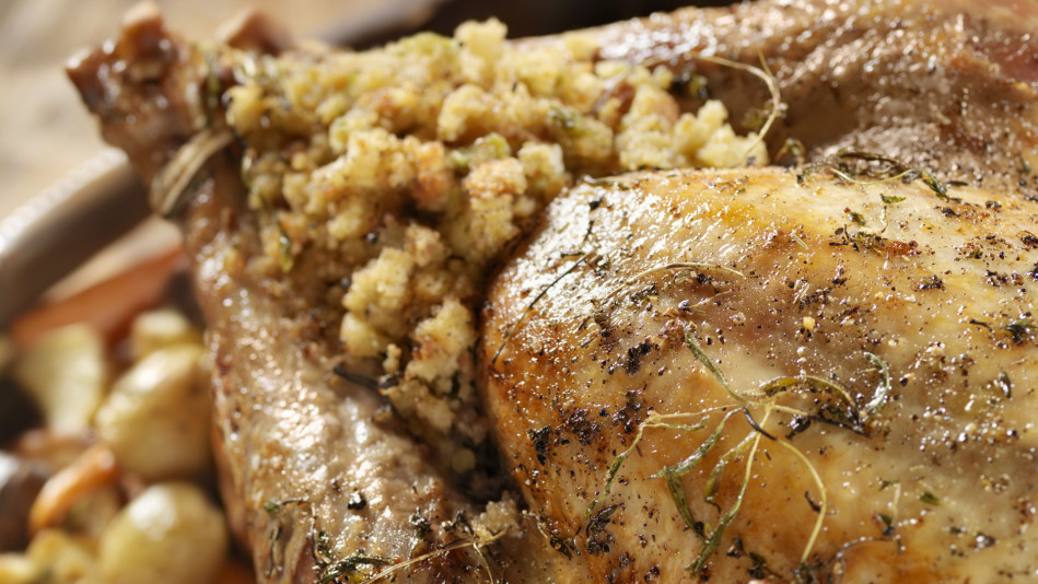 Mediterranean Roasted Turkey