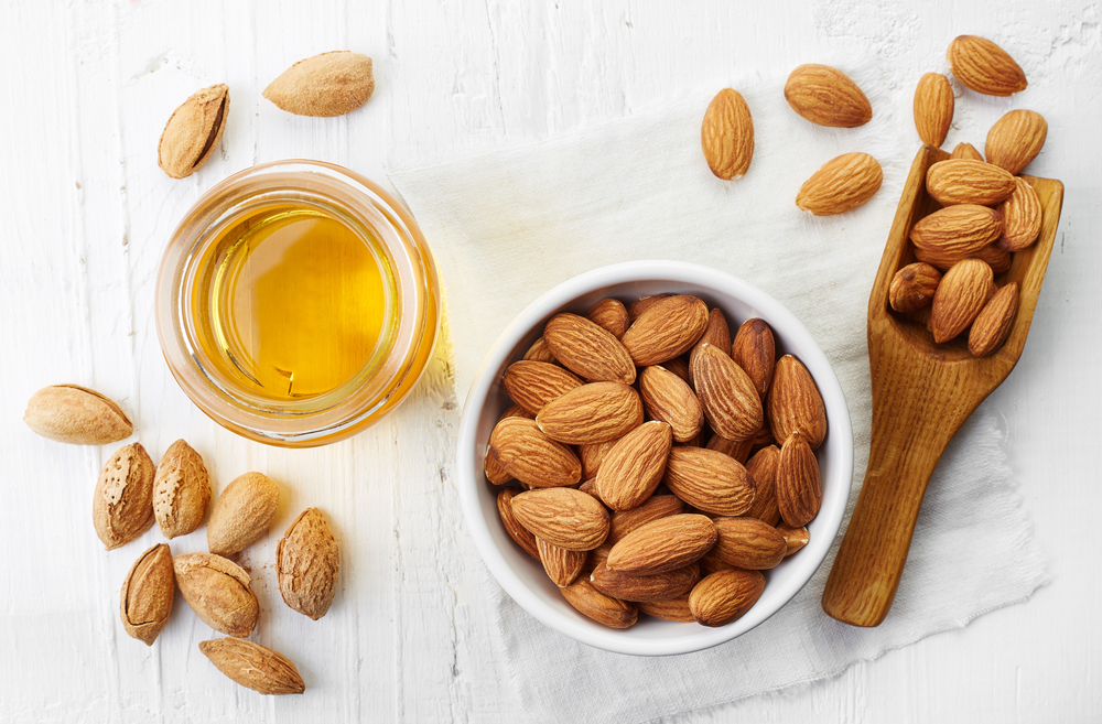 almonds-and-almond-oil