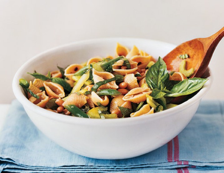 Two-Bean Pasta Salad