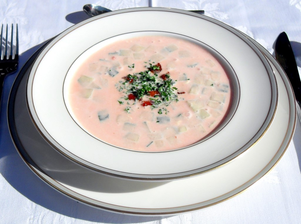 Chilled Picante Summer Soup