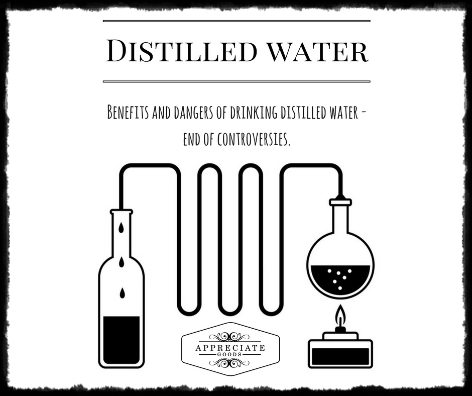 Should You Drink Distilled Water Drink