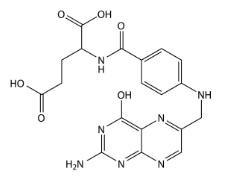 folic-acid-molecular-structure