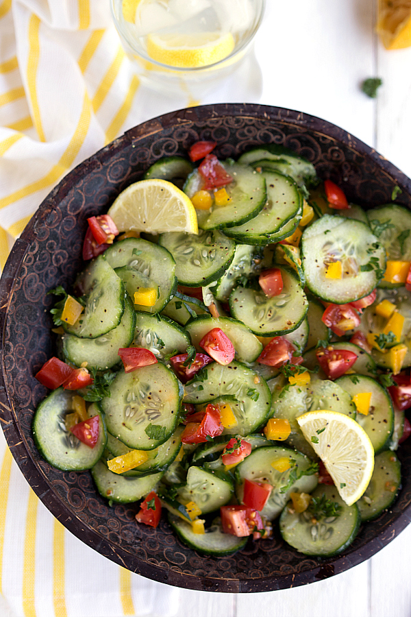 fresh-lemon-cucumber-salad