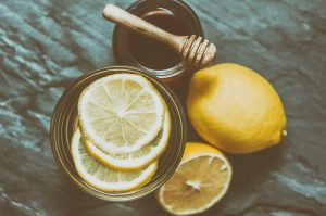 Honey Lemon Water Featured Image
