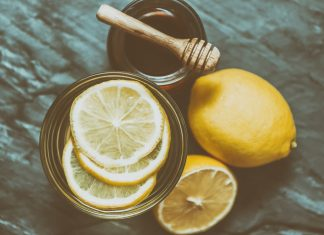 Honey Lemon Water Featured Image