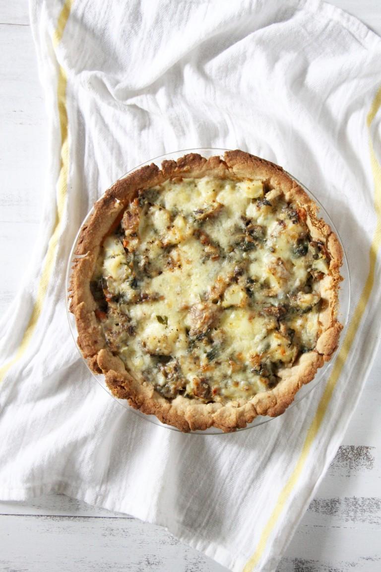 Healthier Homity Pie