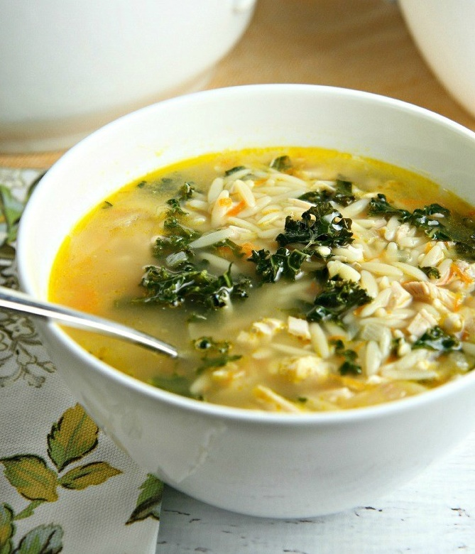 lemon-chicken-orzo-soup