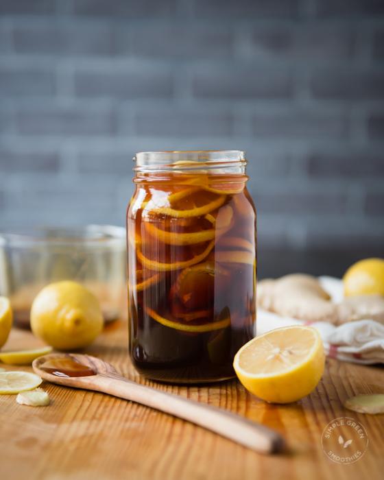 lemon-ginger-and-honey-drink