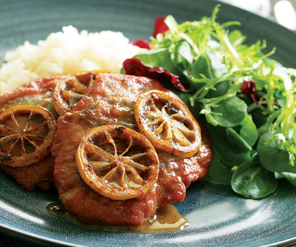 pork-scaloppine-with-prosciutto-sage-caramelized-lemon