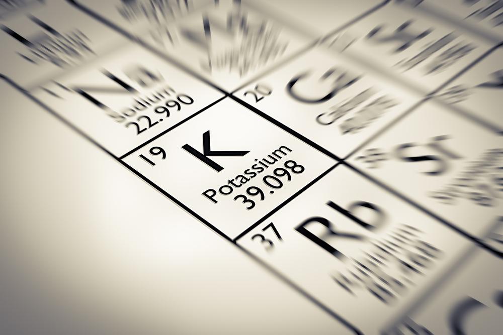 potassium-mineral-k-number-19