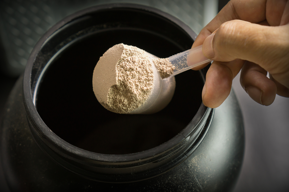 scooping-protein-powder