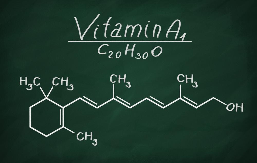 vitamin-a-chemcial-formula