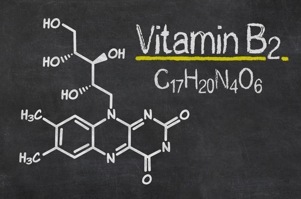 vitamin-b2-blackboard