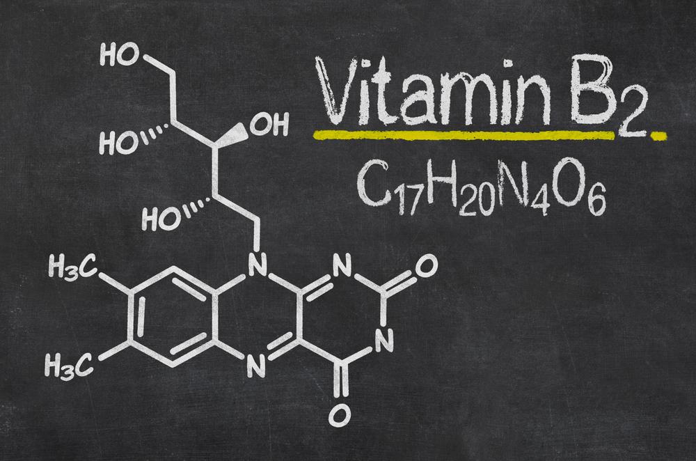 vitamin-b2-blackboard
