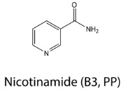 nicotinamide b3, pp molecular structure