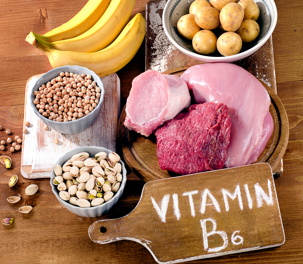 Vitamin b6 in food