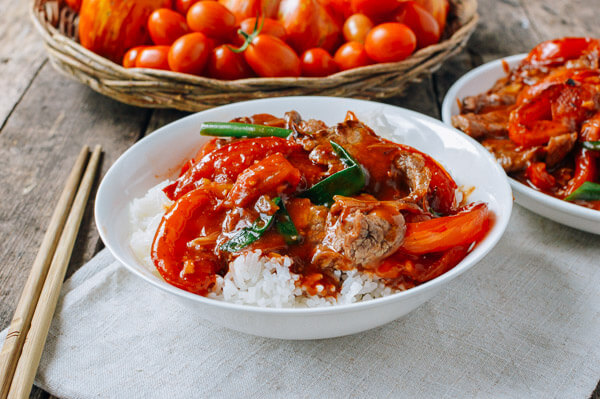 Beef Tomato Stir-Fry