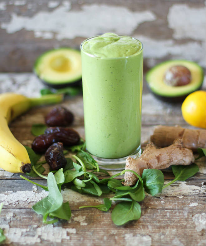 Creamy Ginger Green Smoothie