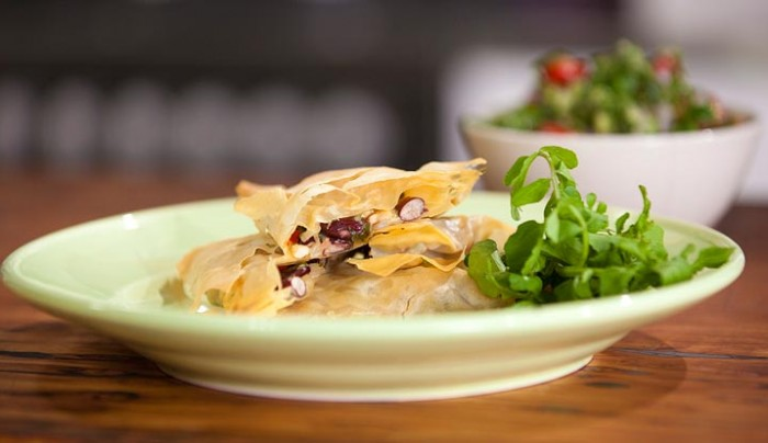 Mexican Chicken and Cheese Fillo Parcel