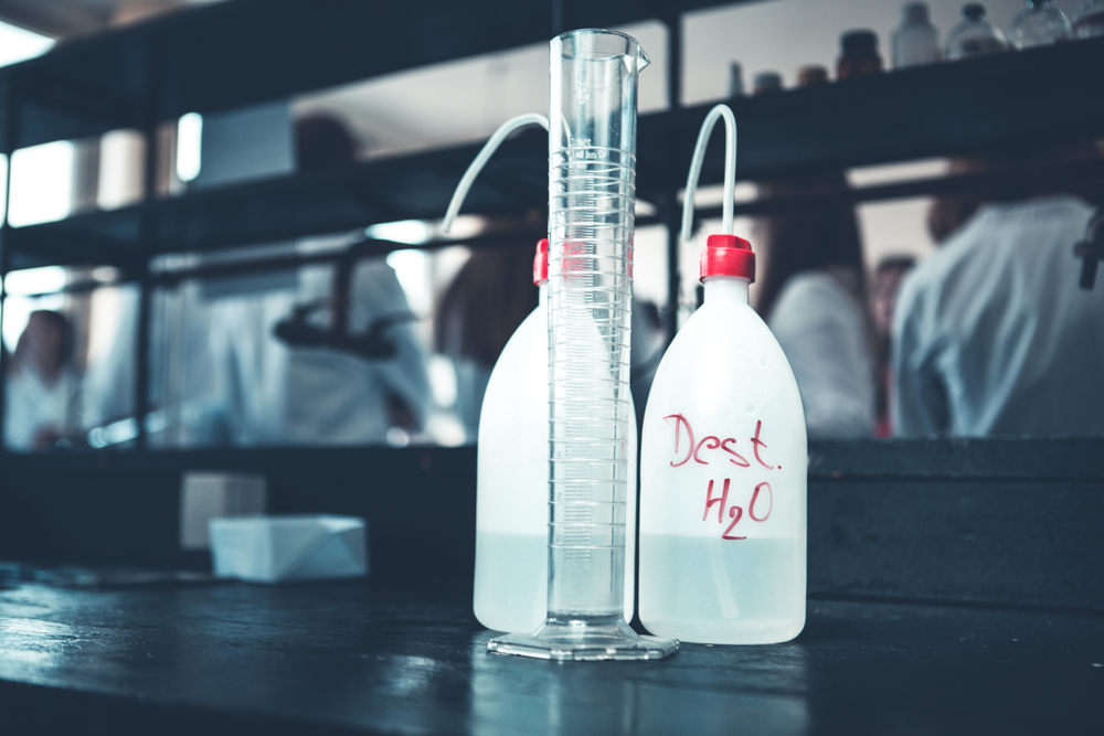 distilled-water-in-test-lab