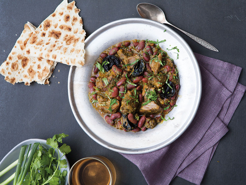 Veal and Kidney Bean Stew