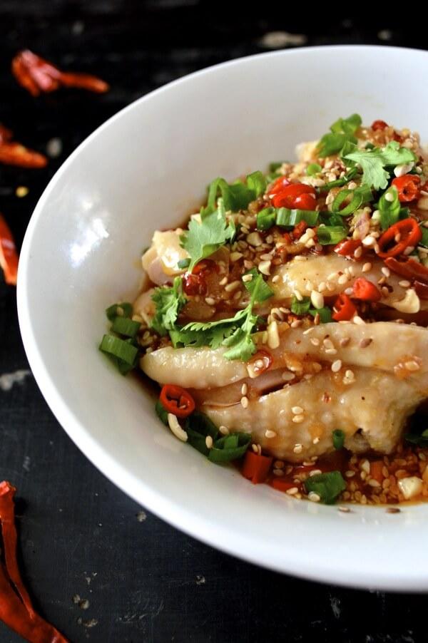Sichuan Chicken in Chili Oil Sauce