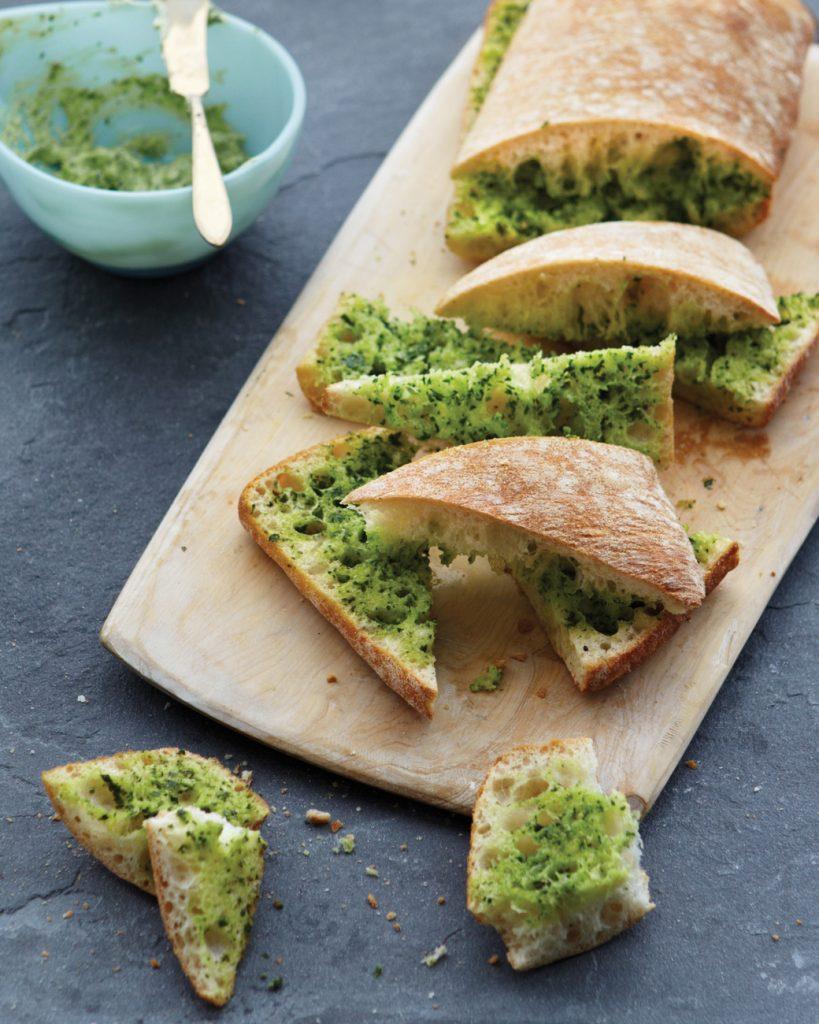 Easy Herbed Garlic Bread