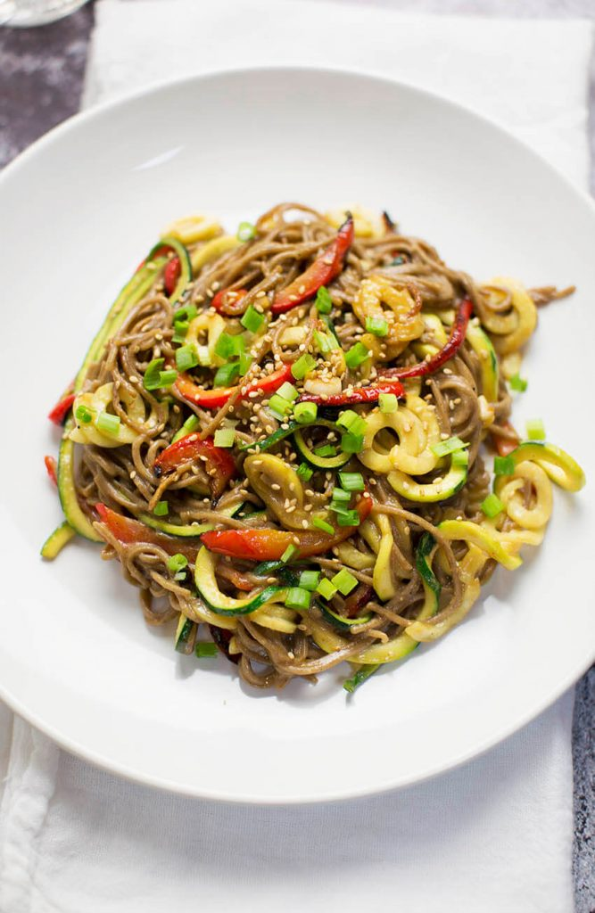 Miso Soba Zoodles