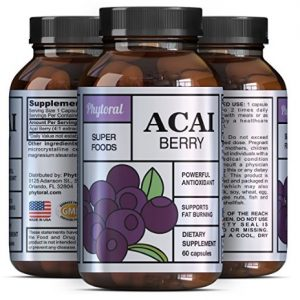 Acai Berry - Detox Cleanse - Antioxidant + Weight Loss Supplement