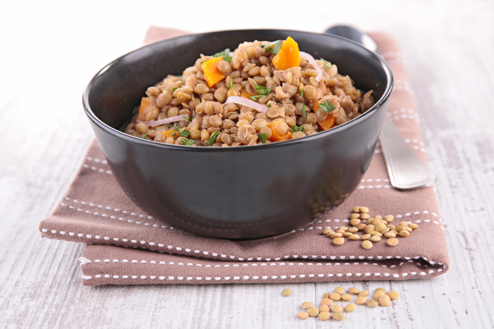 Add lentils in your food
