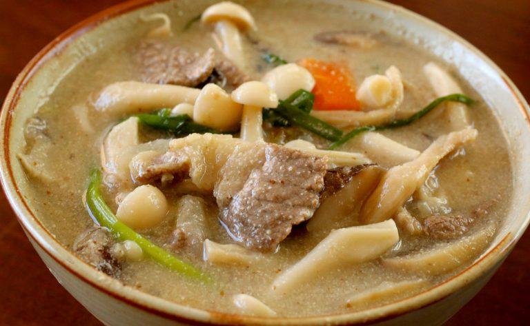 beoseot-deulkkae-tang-korean-mushroom-soup
