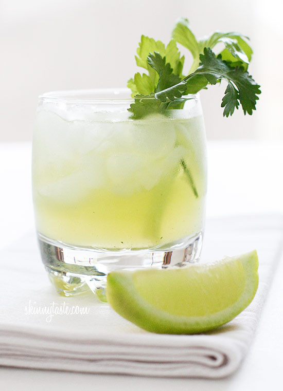 Celery Cilantro Cocktail