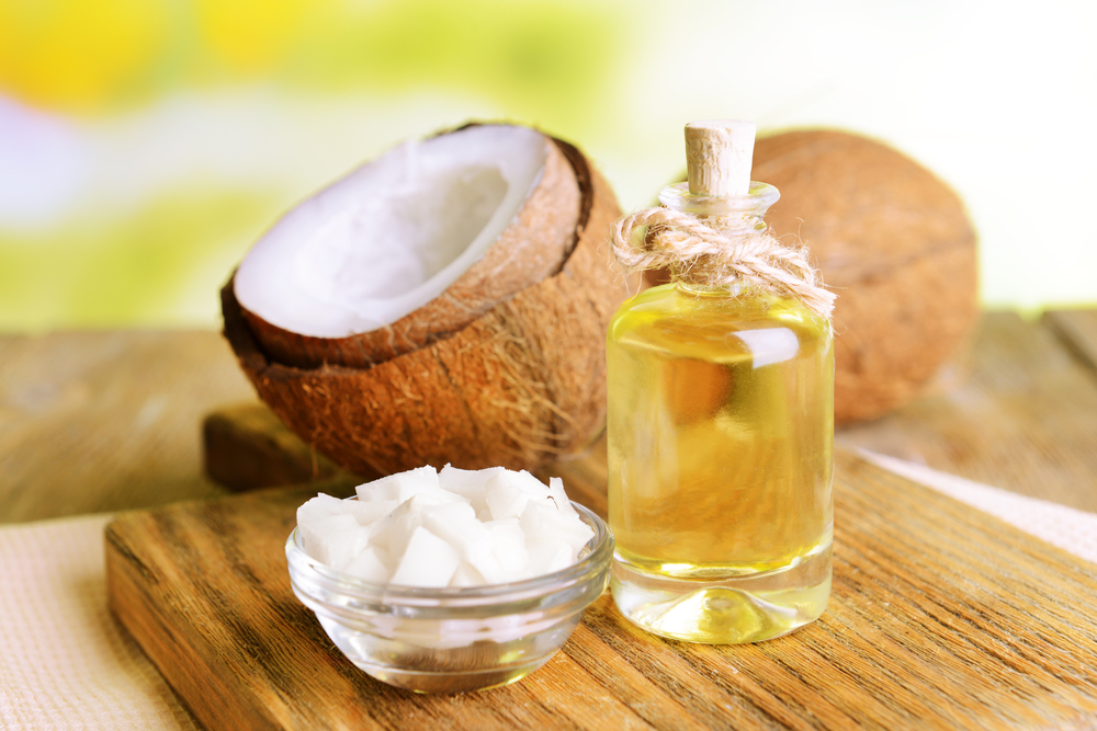Coconut Oil - natural alternatives to fluoride