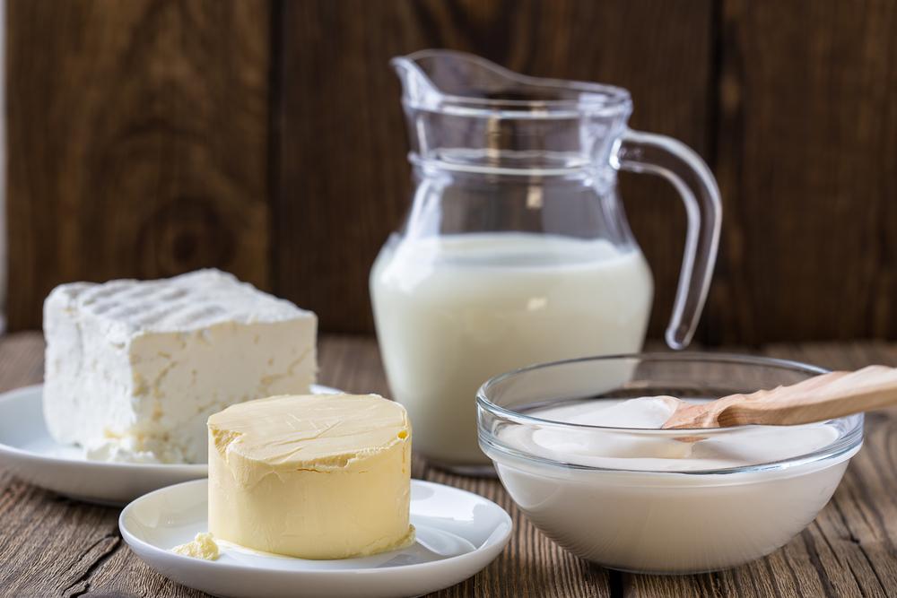 Grass fed raw dairy