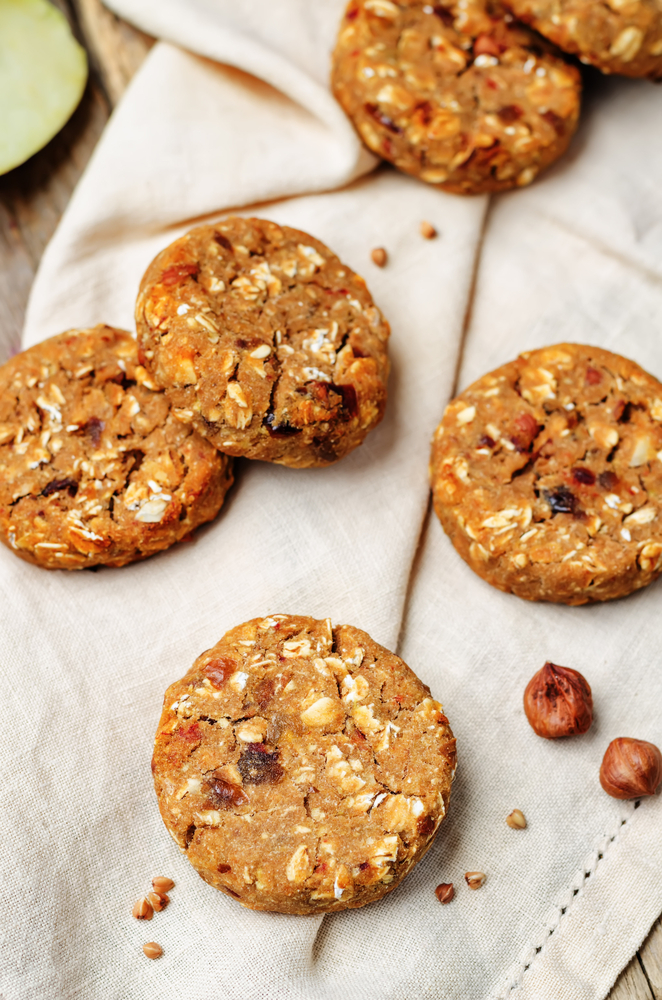 Healthy Banana and Date Cookies