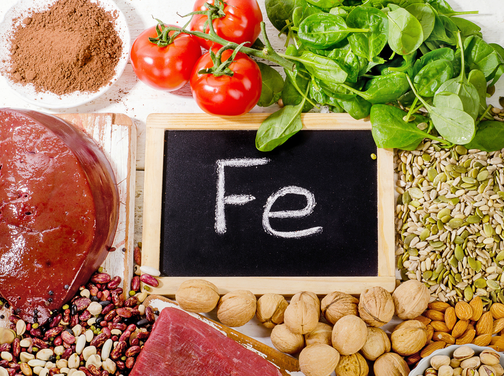 Never ever avoid Iron rich food in your diet