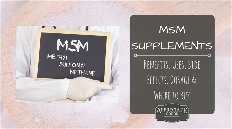 MSM Supplements: Benefits, Uses, Side Effects  Dosage